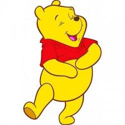 Sticker Autocollant enfant Winnie L'Ourson Winnie L'Ourson