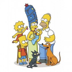 sticker enfant simpsons E95