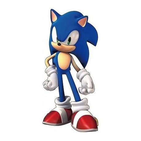 sticker enfant mural Sonic E102
