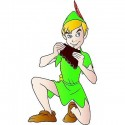 sticker Autocollant enfant Peter Pan E080