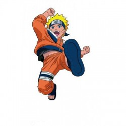 sticker Autocollant enfant Manga Naruto E075