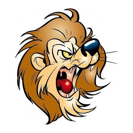 sticker Autocollant enfant lion E066