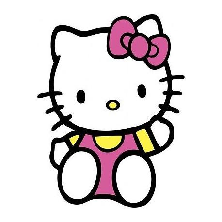sticker Autocollant enfant hello Kitty E055