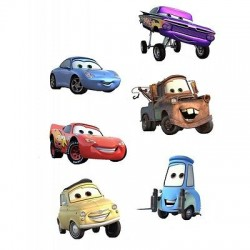 sticker Autocollant enfant Disney Cars E041