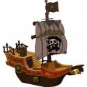 sticker enfant Bateau pirate E022
