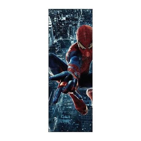 Papier peint porte enfant Spiderman 717