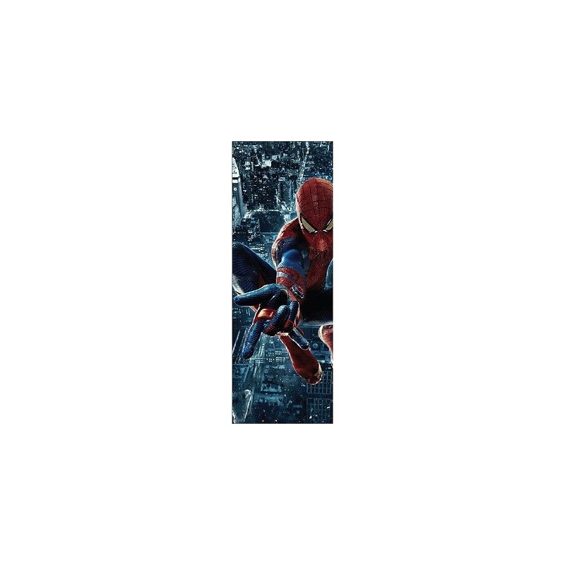 papier peint porte enfant spiderman 717 stickers muraux enfant. Black Bedroom Furniture Sets. Home Design Ideas