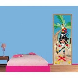 sticker autocollant enfant bateau pirate r f 3692 stickers muraux enfant. Black Bedroom Furniture Sets. Home Design Ideas
