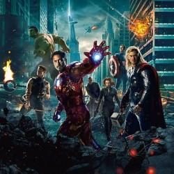 Papier peint enfant géant Avengers 3211