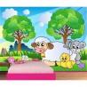Papier peint enfant géant Mouton 611