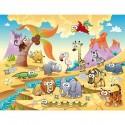 Papier peint enfant géant Animaux 617