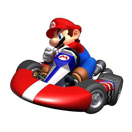 Stickers enfant Mario Kart 6224 réf 4120 (de 10cm à 130cm de largeur)