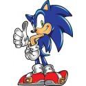 Sticker Iron Sonic réf 3751 (30 dimensions)