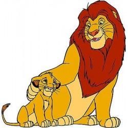 Sticker enfant Le roi lion réf 5768