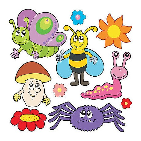 Stickers kit enfant planche de stickers Enfant réf 3691 (12 dimensions)