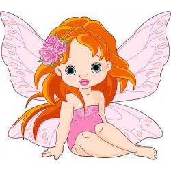 Stickers muraux enfant fée réf 3615