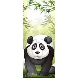 Sticker enfant porte Panda réf 1733