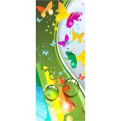 Sticker enfant porte Papillons réf 1737