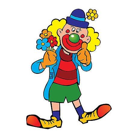 Stickers muraux enfant Clown réf 3576 (30 dimensions)