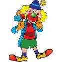 Stickers muraux enfant Clown réf 3576