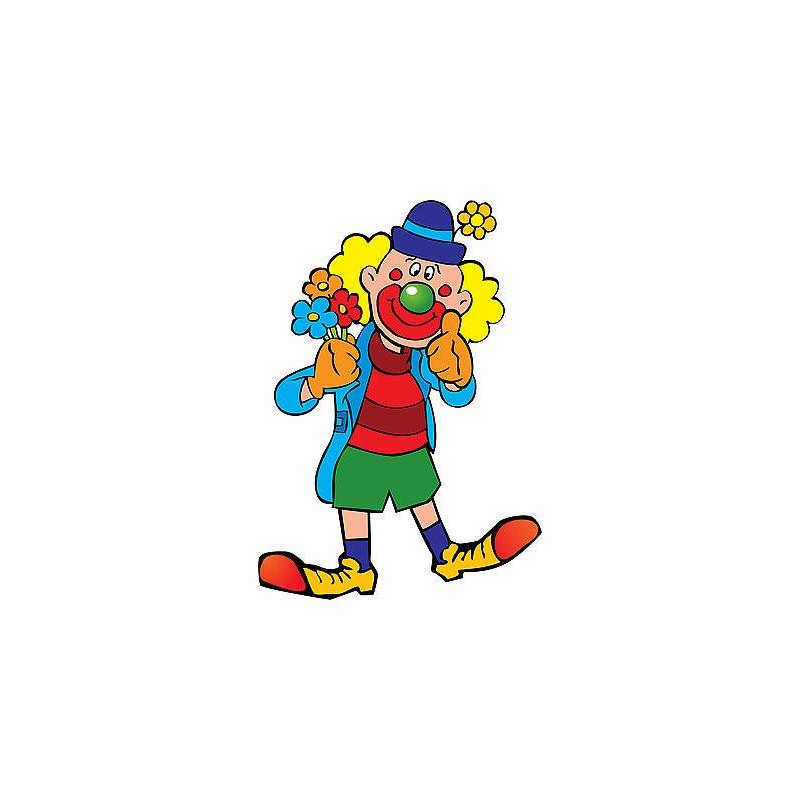 Stickers muraux enfant Clown réf 3576 - Stickers Muraux Enfant