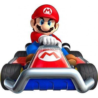 Stickers Mario Kart Ref 15102 Stickers Muraux Enfant