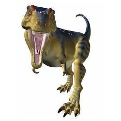 Sticker animal dinosaure 62x100cm