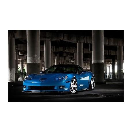 Sticker autocollant auto voiture Chevrolet corvette c6 zr1 A224