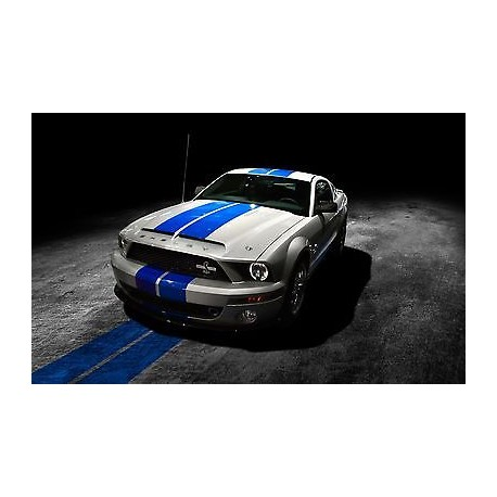 sticker autocollant auto voiture ford mustang ref a216. Black Bedroom Furniture Sets. Home Design Ideas