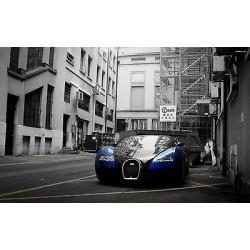 Sticker autocollant auto voiture Bugatti veyron réf A214