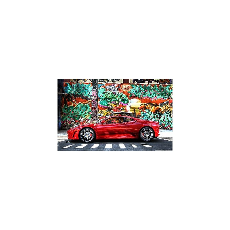sticker autocollant auto voiture ferrari a265 stickers. Black Bedroom Furniture Sets. Home Design Ideas