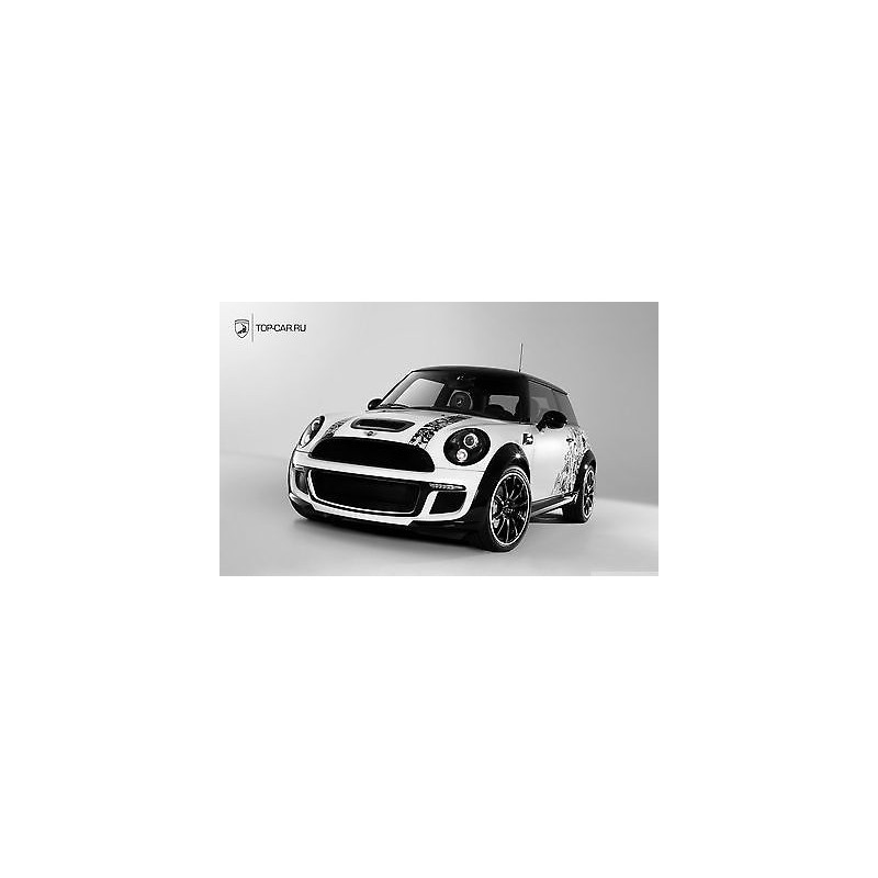sticker autocollant auto voiture mini cooper a263. Black Bedroom Furniture Sets. Home Design Ideas