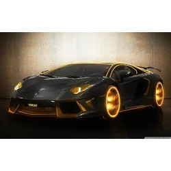Sticker autocollant auto voiture the aventador A262