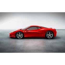 Sticker autocollant auto voiture Ferrari 458 italia A247