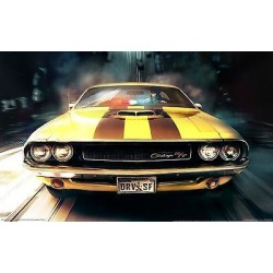 Sticker autocollant auto voiture San francisco challenger A233