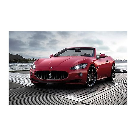 sticker autocollant auto voiture maserati grancabrio sport a230 stickers muraux enfant. Black Bedroom Furniture Sets. Home Design Ideas