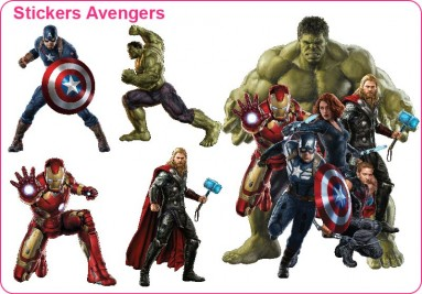 Stickers Avengers